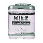 Kilz Casual Colors Interior/Exterior Flat Paint