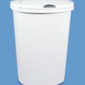 Sterilite Touch Top Wastebasket #1097