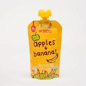 Ella's Kitchen Apples + Bananas Stage 1 Baby Food