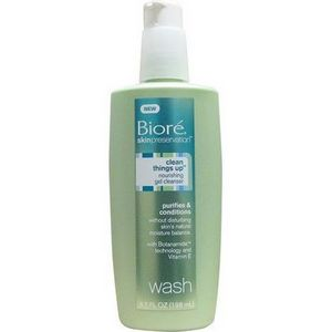 Biore SkinPreservation Clean Things Up Nourishing Gel Cleanser