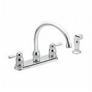 Nice Moen 87881 Two Handle Kitchen Faucet