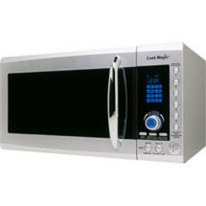 Cook Magic 900 Watt 0.9 Cubic Feet Talking Microwave Oven