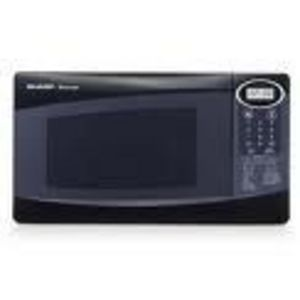 Sharp 800 Watt 0.8 Cubic Feet Microwave Oven R-209BX/ 209KK