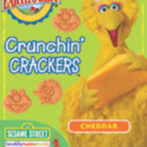Earth's Best Sesame Street Crunchin' Crackers - Cheddar