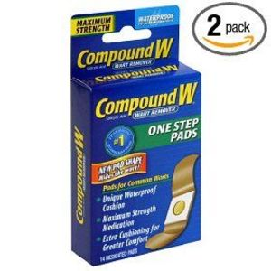 Compound W Wart Remover One Step Pads