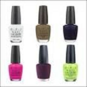 Opi Matte Nail Lacquer All Shades