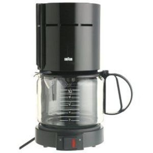 Braun Coffee Maker How To Clean : Braun 10-Cup Aromaster Coffeemaker KF400-BK / KF400-WH Reviews Viewpoints.com