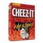 Sunshine - Cheez-It Hot & Spicy Baked Snack Crackers