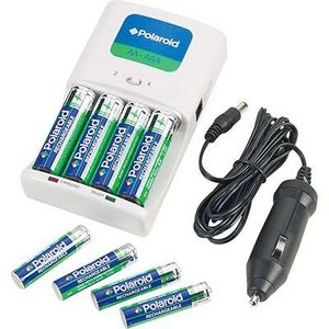 Polaroid - Rechargeable Batteries and Charger