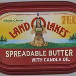 Land o'Lakes Butter with olive oil