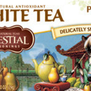 Celestial Seasonings - Perfectly Pear White Tea