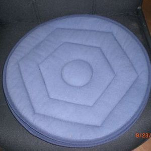 Rose Health Care Soft Fabric Swivel Seat