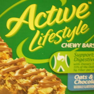 Active Lifestyle - Chewy Bars - Oats & Chocolate
