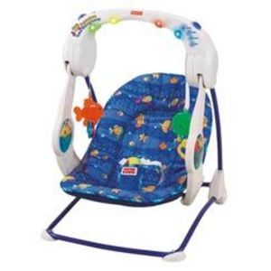 Fisher-Price Ocean Wonders Aquarium Take Along Swing