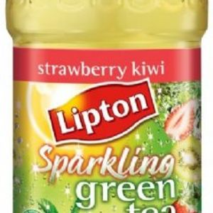 Lipton - Diet Sparkling green tea (strawberry kiwi)