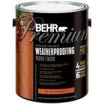 Behr Premium Weatherproofing Wood Stain