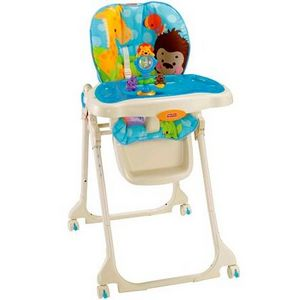 Fisher-Price Precious Planet Blue Sky High Chair