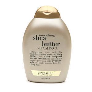 Organix Cocoa butter shampoo and conditioner