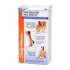 Sally Hansen Hair Remover Wax Strips