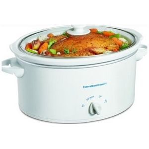 Hamilton Beach 6-Quart Slow Cooker