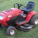"""Husky Riding lawnmower 46"""""""
