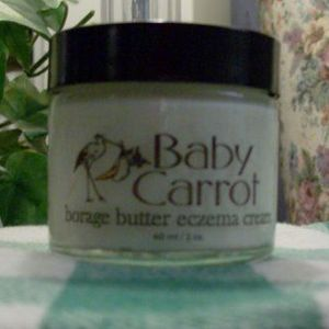 Wild Carrot Herbals borage butter eczema cream