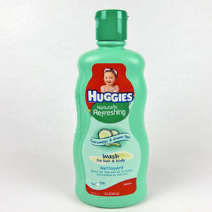 Huggies Green Tea & Cucumber Body Wash