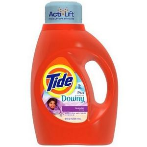 Tide with a Touch of Downy Liquid Laundry Detergent, Lavender Scent