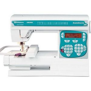 Husqvarna Viking Computerized Embroidery & Sewing Machine Scandinavia