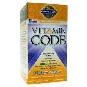 Garden Of Life Vitamin Code Perfect Weight 120 Veggie Caps Reviews