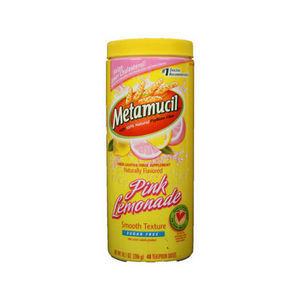 Metamucil Pink Lemonade Fiber Laxative Supplement