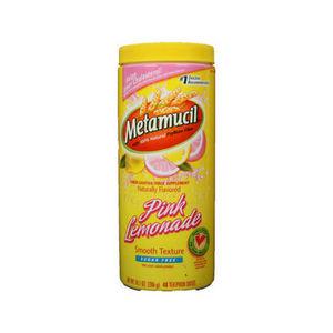 Metamucil Pink Lemonade Fiber Laxative Supplement