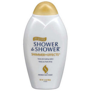 Shower to Shower Shimmer Effects Body Powder