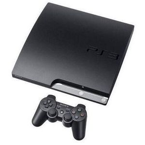 Sony - PlayStation Slim (120 GB) Game Console