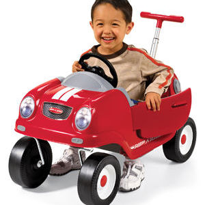 Radio Flyer Steer and Stroll Coupe