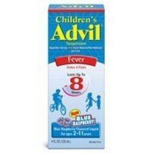 Advil Children's Fever Reducer & Pain Reliever Oral Suspension, Blue Raspberry