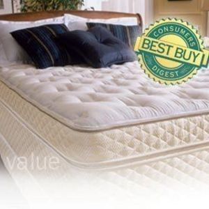 Spring Air  NeverTurn Mattress