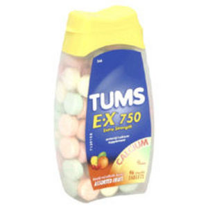 Tums E-X 750 Extra Strength antacid / calcium supplement