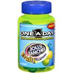 One Day Kids Multivitamin Gummies with Jolly Rancher Flavors