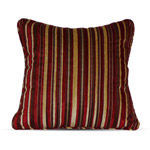 Canopy (Walmart) Chenille Stripe Pillow - Brick Red