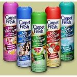 Carpet Fresh Carpet No Vacuum Foam Refresher
