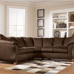 Ashley Furniture Durapella - Cocoa Sectional Sofa