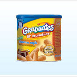 Gerber Graduates Maple Cinnamon Lil' Crunchies