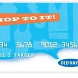 GE Capital Retail Bank - Old Navy Credit Card