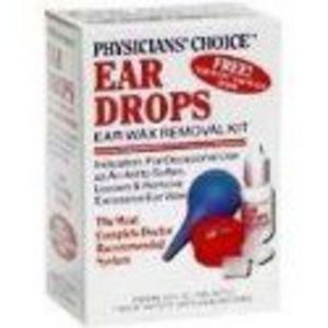 Physicians' Choice Ear Wax Removal Kit