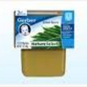 Gerber NatureSelect 2nd Foods Green Beans