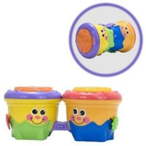Fisher Price Go Baby Go Crawl Along Drum