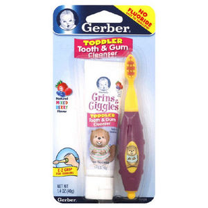 Gerber Grin & Giggles Toddler Tooth and Gum Cleaner