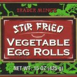 Trader Ming's Stir Fried Vegetable Egg Rolls