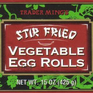 Trader Ming's Stir Fried Vegetable Egg Rolls
